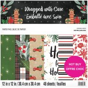 Paper Pad Craft Smith - Wrapped with Care - 12x12 Tum