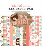 Paper Pad Echo Park - Baby Girl - 6x6 Tum
