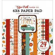 Paper Pad Echo Park - Happy Fall - 6x6 Tum