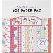 Paper Pad Echo Park - It's Your Birthday Pink - 6x6 Tum