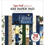 Paper Pad Echo Park - Silent Night - 6x6 Tum