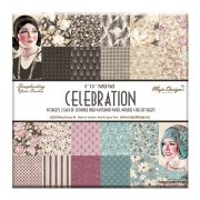 "Paper Pad 40 ark Maja Design 6""x6"" - Celebration"