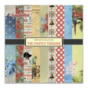 Paper Pad 6x6 - ScrapBerrys - The Pirates Treasure