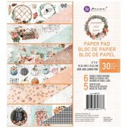Paper Pad Prima Marketing - Pumpkin and Spice - 6x6 Tum