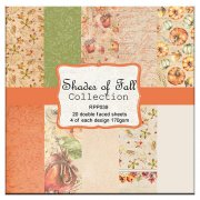 Paper Pad Reprint - Shades of Fall - 6x6 Tum