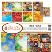 Paper Kit 12x12 - Ella & Viv - Hello Fall