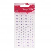 Rhinestones Pale Lilac - Papermania 104 st