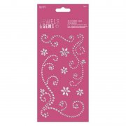 Papermania Flourish Gem Stickers - 8 st