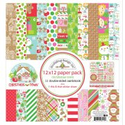 Paper Pack 12x12  - Doodlebug - Christmas Town