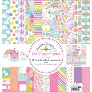 Paper Pack 12x12  - Doodlebug - Fairy Tales