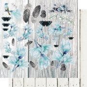 Papper 13 arts - Blue Magnolia - Flower day