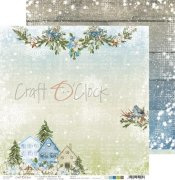 Papper Craft O Clock - Carols in the Snow 3
