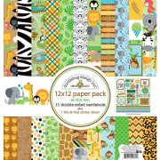 Paper Pack Doodlebug - At the Zoo - 12x12 Tum