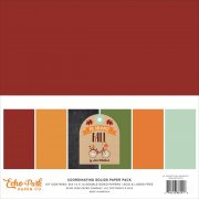 Paper Pack Echo Park - My Favorite Fall - Coordinating Solids