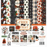 Paper Pack Echo Park - Trick or Treat - 12 x 12 Tum
