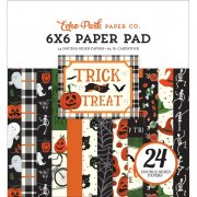 Paper Pack Echo Park - Trick or Treat - 6 x 6 Tum