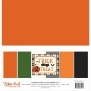 Paper Pack Echo Park - Trick or Treat - Coordinating Solids