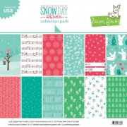 Paper Pack Lawn Fawn - Snow Day Remix - 12 x 12 Tum