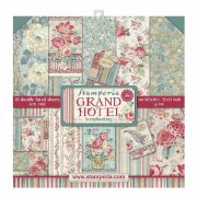 Paper pack Stamperia - Grand Hotel - 12x12 Tum