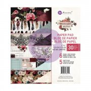 Paper pad 6x6 - Prima Marketing - Midnight Garden