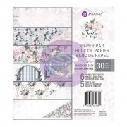 Paper pad 6x6 - Prima Marketing - Poetic Rose