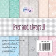 Paper pad 6x6 Altair art - Ever and Always II
