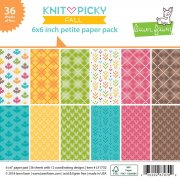 Paper Pad 6x6 Lawn Fawn - Knit Picky Fall