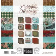 Paper Pad Couture Creations 12x12 - Highland Christmas