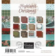 Paper Pad Couture Creations 6x6 - Highland Christmas