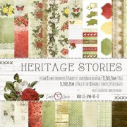 Paper Pad Craft Clock - Heritage Stories - 6x6 Tum