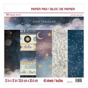 Paper pad Craft Smart - Star Traveller - 12x12 Tum