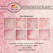 Paper Pad Dixi Crafts Rose Background