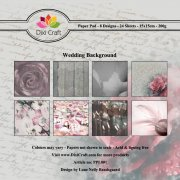 Paper Pad Dixi Crafts - Wedding Background