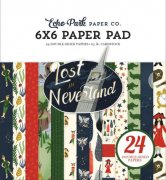 Paper Pad Echo Park - Lost in Neverland - 6x6 Tum