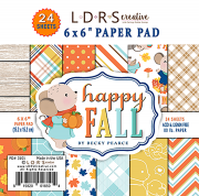 Paper Pad LDRS Creative - Happy Fall - 6x6 Tum