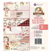 Paper Pad Prima Marketing - Christmas In The Country - 6 x 6 Tum