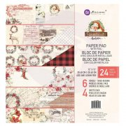 Paper Pad Prima Marketing - Christmas In The Country - 12 x12 Tum