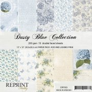 Paperpad Reprint 12x12 - Dusty Blue