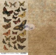 Papper Altair Art - Butterfly Effect 08 - 6x12 Tum