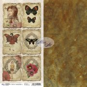 Papper Altair Art - Butterfly Effect 14 - 6x12 Tum