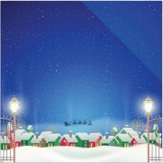 Papper Reminisce - Christmas Town