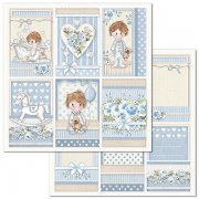 Papper Stamperia - Little Boy Frames