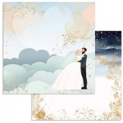 Papper Stamperia - Love Story - Clouds