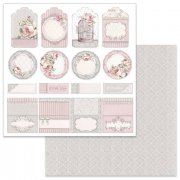 Papper Stamperia - Wedding Tag & Placeholder