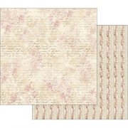 Pink Buttercup With Writing Stamperia Scrapbooking