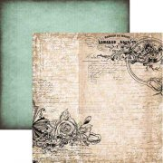 Papper 13 arts 12x12 - Vintage Summer - Something borrowed