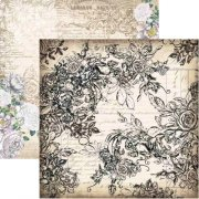 Papper 13 arts 12x12 - Vintage Summer - Vintage rose