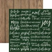 Papper Kaisercraft - Peace & Joy - Delight