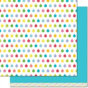 Papper Lawn Fawn - Really Rainbow Christmas - Icy Blue