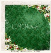 Papper Lemoncraft 12x12 - Christmas Carols 03